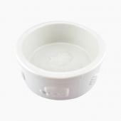 田田猫 浮雕加厚陶瓷猫碗宠物用品