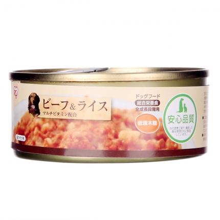 爱丽思IRIS 牛肉米饭狗罐头100g 狗湿粮