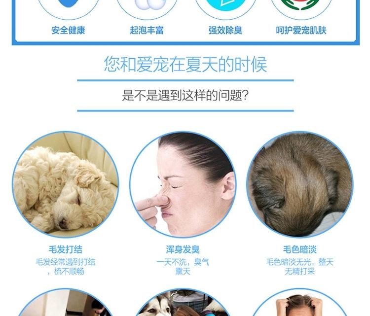 狮王LION 每日洗二合一香波 柔和花香型 犬用 550ml