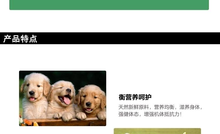 巴西淘淘 力派系列中大型犬成犬粮15kg 进口狗粮