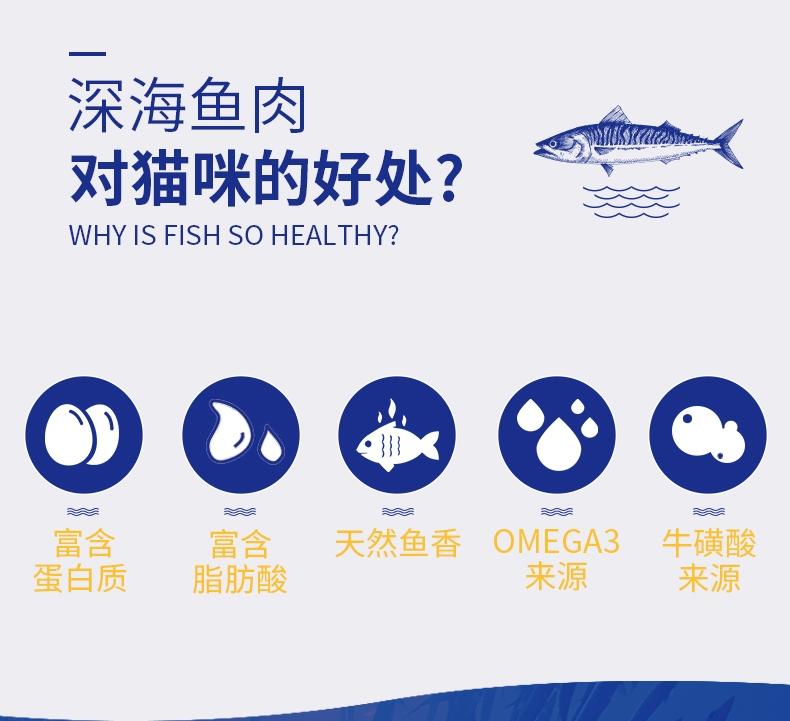 海洋之星 鲭鱼猫粮1.5KG