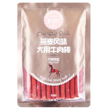 怡亲Yoken 燕麦牛肉棒200g 奖励 训练  狗零食