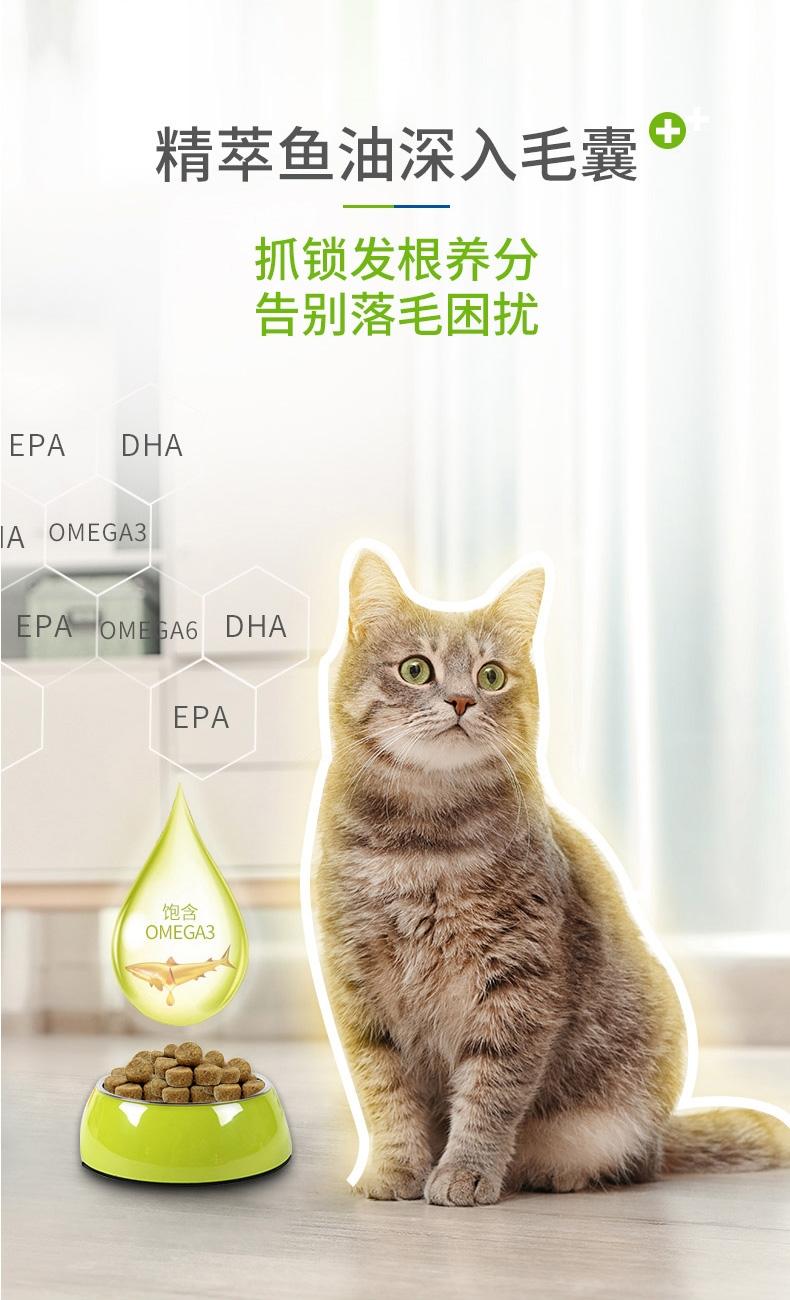麦德氏inplus 猫用护毛超浓缩卵磷脂 65g 改善肤质亮泽毛发