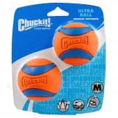 petmate 超级橡胶弹球狗玩具 两只装
