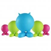 美国petmate 骨子球天然橡胶发声耐咬狗玩具