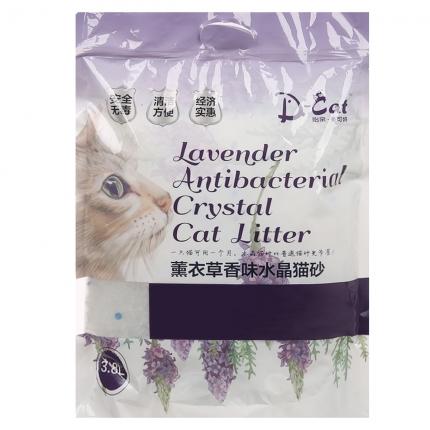 怡亲 薰衣草香味水晶猫砂3.8L