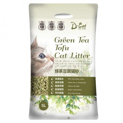 怡亲多可特 绿茶豆腐猫砂(5L)