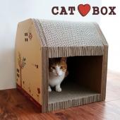 田田猫 创意立体加强型猫房子