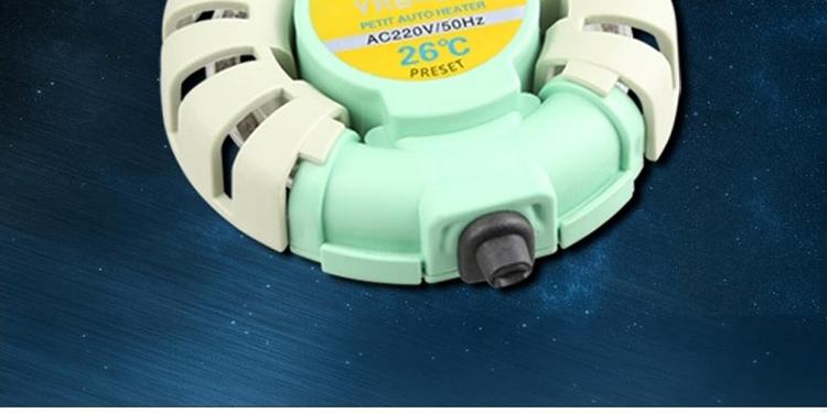 森森圆形防爆加热棒鱼缸温控器自动恒温微型迷你加热棒