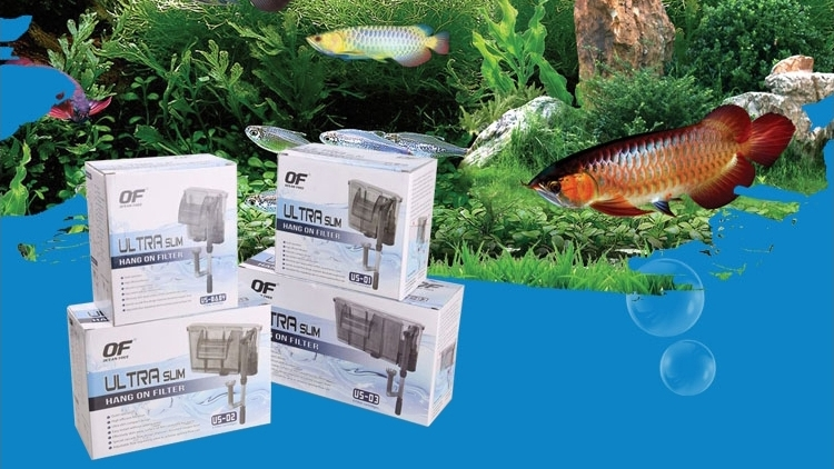 仟湖OF傲深外挂过滤器瀑布壁挂式鱼缸水族过滤设备外置