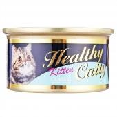哈乐喜 鲔鱼离乳幼猫罐头80g 猫湿粮