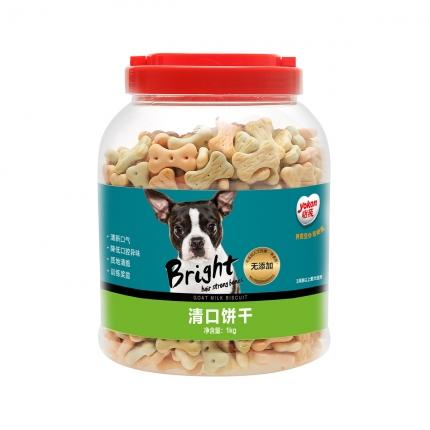 怡亲 宠物清口饼干1kg 除口臭 减牙垢 狗零食