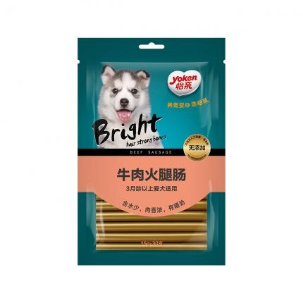 怡亲 犬用牛肉火腿肠15g*30支 狗零食