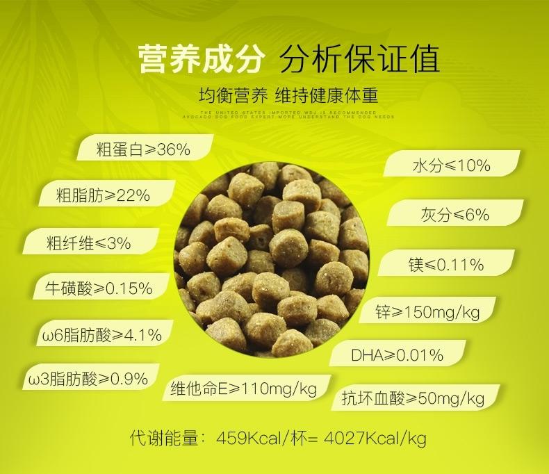 牛油果Avoderm 幼猫粮鸡肉鲱鱼配方猫粮 3.5磅/1.58kg