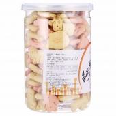 路斯钙奶饼干(小桶装)220g/罐 *3