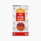 麦富迪牛肉粒双料双拼成犬粮(贵宾犬专用)2kg