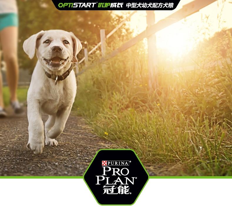 冠能PRO PLAN 中型犬幼犬全价狗粮12kg