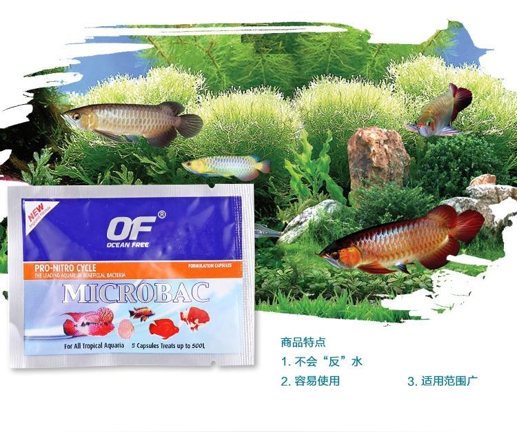 仟湖傲深OF麦特贝热带鱼龙鱼消化益菌鱼缸硝化细菌