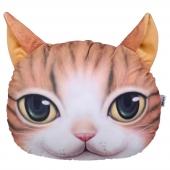 猫范 3d印花喵星人抱枕