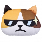 猫范 3D猫咪印花办公室抱枕(内含空调毯)