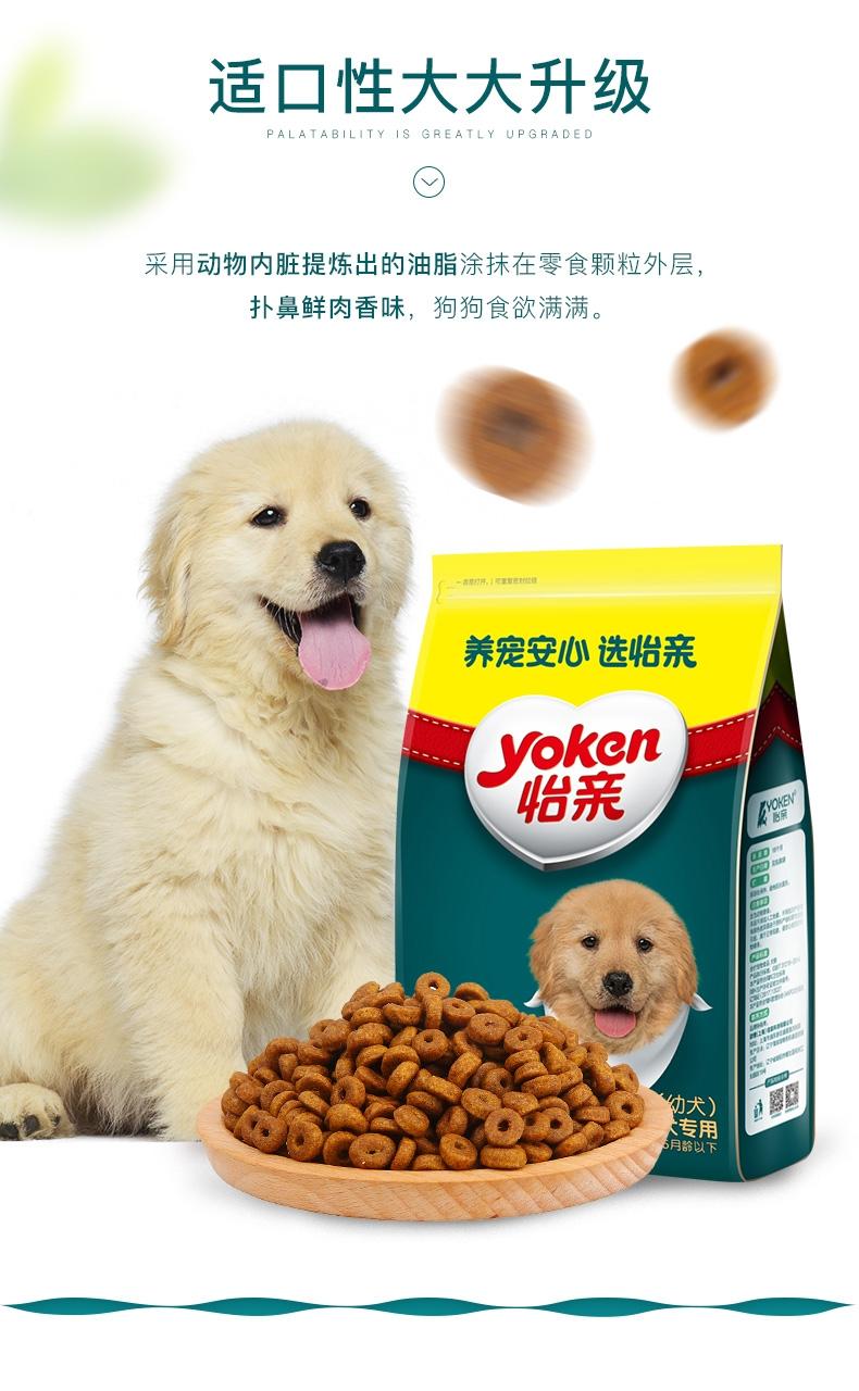 怡亲yoken 金毛幼犬粮专用狗粮2.5kg