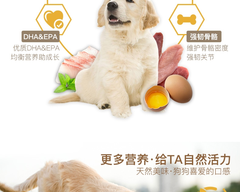 Orijen渴望 无谷幼犬配方狗粮 2kg
