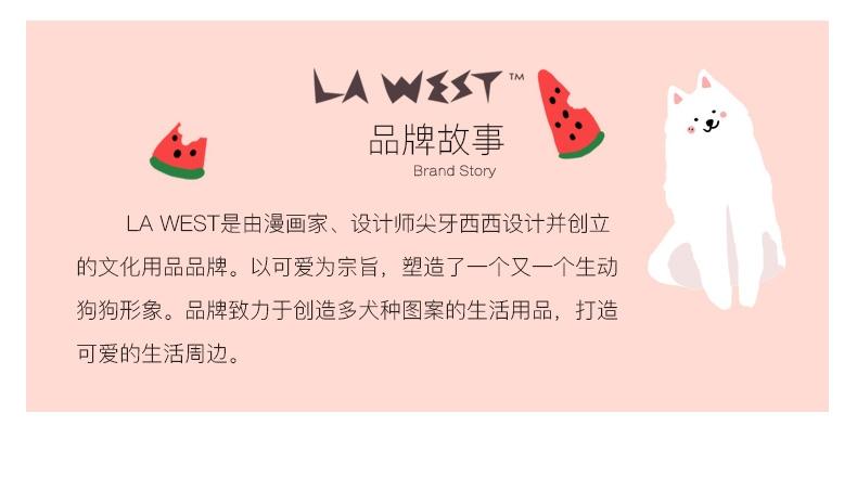 La west 柯基亲子装 卡通亲子装