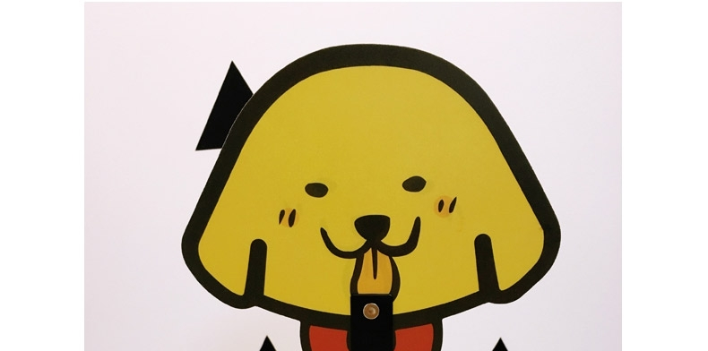 La west 夏日凉扇必威官网下载可爱扇子手持PP卡通便携塑料扇