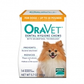 牙口乐 4.5kg以下犬用洁齿骨XS 狗狗去牙结石牙菌斑口腔清洁口臭洁齿棒