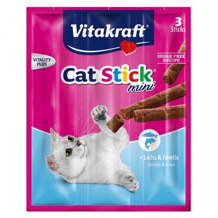 卫塔卡夫Vitakraft猫条 肉干猫零食 鳟鱼口味18g