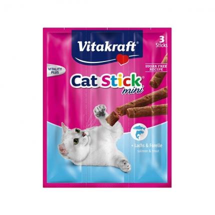 【换购搭赠】卫塔卡夫Vitakraft猫条 肉干猫零食 鳟鱼口味18g