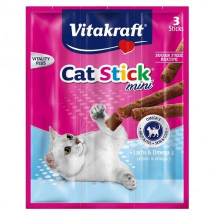 Vitakraft猫条 肉干猫零食 三文鱼口味18g