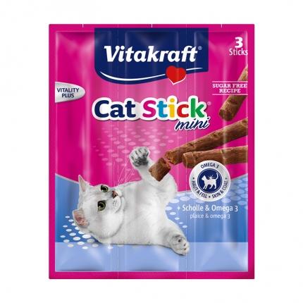 卫塔卡夫Vitakraft猫条 肉干猫零食 鲽鱼口味18g