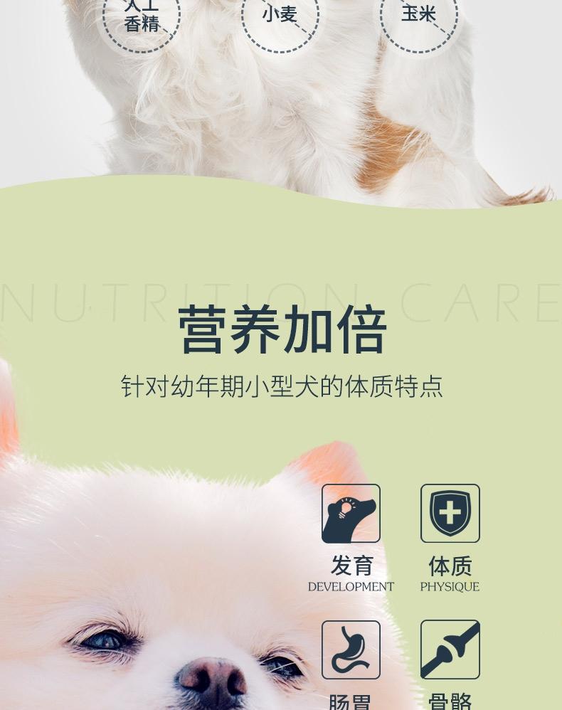 伯纳天纯 鸡肉樱桃小型犬幼犬粮 10kg