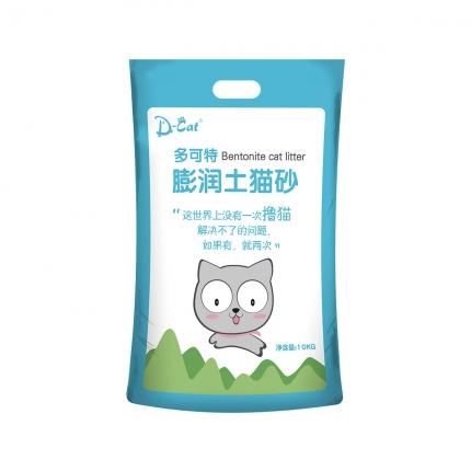 多可特 膨润土猫砂10kg