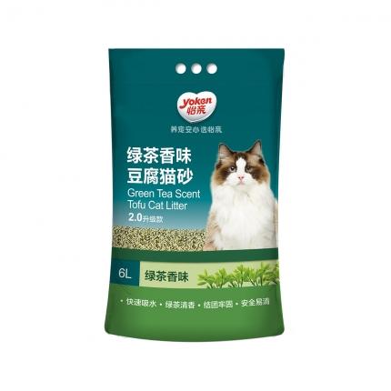 怡亲 绿茶豆腐猫砂6L 2.0升级款