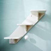 CatS 墻上貓家具系列之木制貓樓梯貓爬臺階F4 白浮雕款