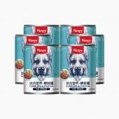 顽皮Wanpy 牛肉口味狗罐头375g*6罐 狗湿粮