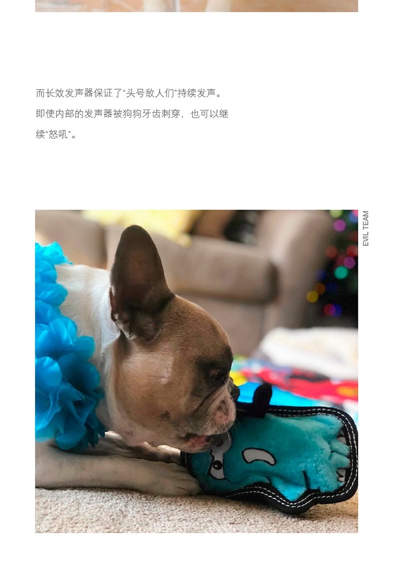 酷极Kyjen 宠物玩具(邪恶小分队)狗玩具