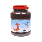 聚寶源 錦鯉金魚通用魚糧育成2mm顆粒 1500g