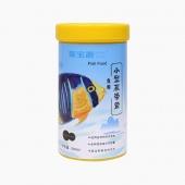 聚寶源 小型魚熱帶魚魚糧0.6mm顆粒 240ml