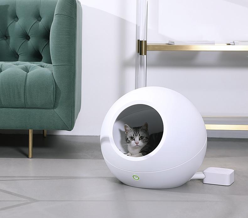 小佩Petkit 宠物智能猫窝冬季保暖冬天空调窝四季通用小型犬狗窝