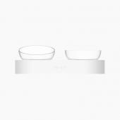 小佩Petkit 猫碗斜口双碗饮水碗狗盆猫食盆龙八用品 可调节