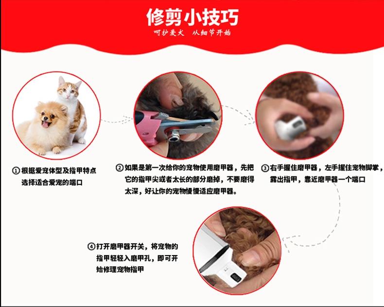 宝润 宠物磨甲器
