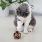 未卡Vetreska  多功能猫玩具玲珑球22g 薄荷嫩叶加木天蓼