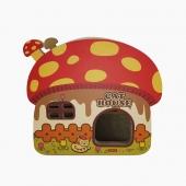 田田猫 超可爱蘑菇猫房子瓦楞纸猫抓板猫窝猫帐篷宠物用品