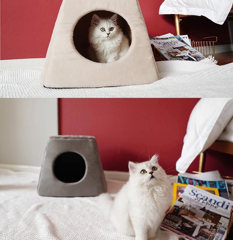 ZEZE 沙发屋 封闭式猫窝