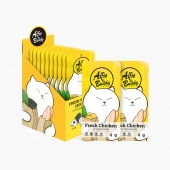 阿飞和巴弟 犬猫零食海苔煮鸡胸肉400g狗零食猫零食