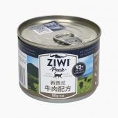 滋益巅峰Ziwi peak 无谷牛肉猫罐头 185g 92%肉含量 新西兰进口