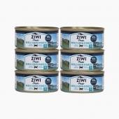 滋益巅峰Ziwi peak 无谷马鲛鱼羊肉主食猫罐头 85g*6罐 92%肉含量 新西兰进口